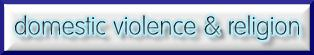 domestic violence and religion
